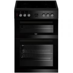 Beko EDC633K Double Oven Electric Cooker - Black - A/A Rated