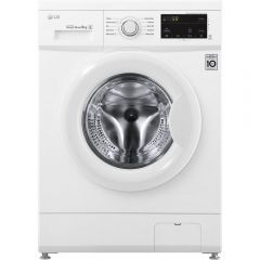 LG F4MT08W 8 kg 1400 Inverter Direct Drive Washing Machine - WHITE - A+++-30% Energy Rated