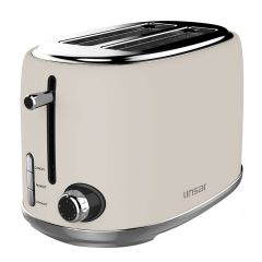 Linsar KY865CREAM 2 Slice Toaster - Cream