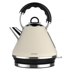 Linsar PK117CREAM 1.7 Litre Pyramid Kettle - Cream