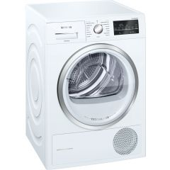 Siemens extraKlasse WT46G491GB 9kg Condenser Tumble Dryer - White - B Rated