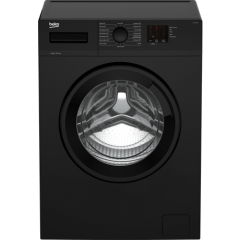 Beko WTK72041B 7Kg 1200 Spin Washing Machine - Black - A+++ Energy Rated