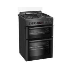 Blomberg GGN65N 60Cm Double Oven Gas Cooker With Gas Hob - Anthracite - A+ Energy Rated