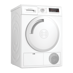 Bosch WTN83201GB 8Kg Condenser Tumble Dryer White B Energy Rated
