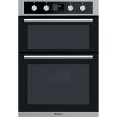 Hotpoint DD2844CIX Built In Double Oven Inox/Silver
