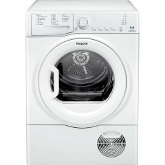 Hotpoint TCFS83BGP 8kg LED Condensor Sensor Tumble Dryer White