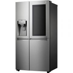 LG GSX960NSVZ InstaView Door-in-Door American Style Fridge Freezer - PREMIUM STEEL - A++ Energy Rated