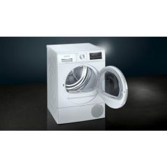 Siemens WT47RT90GB 9Kg Heat Pump Tumble Dryer White A++ Energy Rated